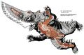 GAMERA SHOUT FACTORY - Guiron Anatomy
