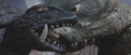 Gamera - 5 - vs Guiron - 24 - Nom nom nom