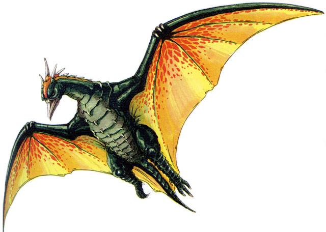 File:Concept Art - Godzilla vs. MechaGodzilla 2 - Fire Rodan 1.png