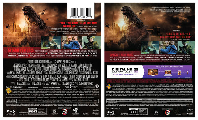 File:O-Sleeve and Back Cover Art for the Godzilla Blu-ray + DVD + UltraViolet Combo Pack.jpg