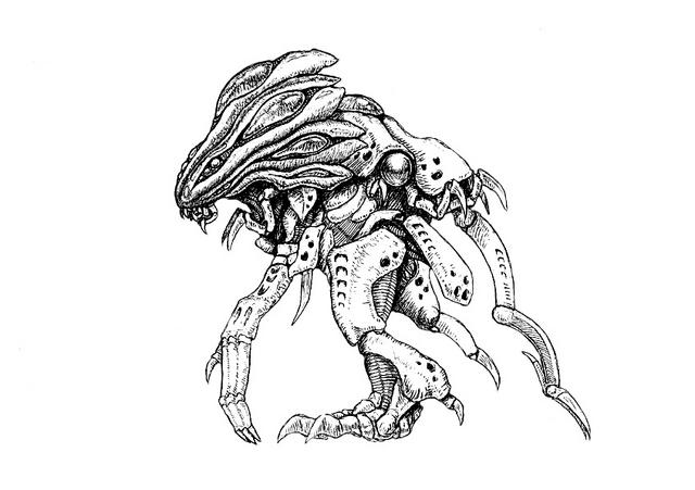 File:Concept Art - Godzilla 2000 Millennium - Orga 89.png