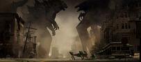 Concept Art - Godzilla 2014 - Godzilla vs. MUTO 9