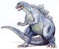Concept Art - Godzilla vs. King Ghidorah - Godzillasaurus 2