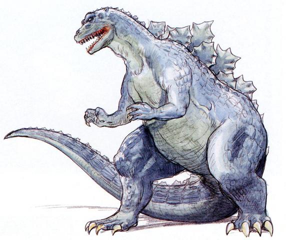 File:Concept Art - Godzilla vs. King Ghidorah - Godzillasaurus 2.png