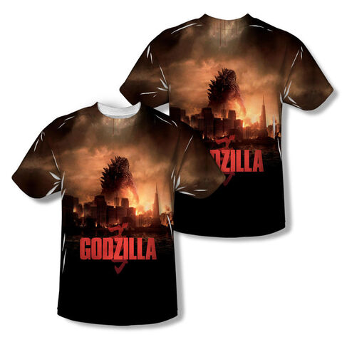 File:Godzilla 2014 Merchandise - Clothes - City On Fire Shirt.jpg