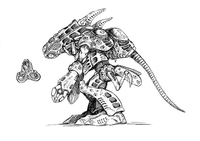 File:Concept Art - Godzilla 2000 Millennium - Orga 83.png