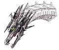 Concept Art - Godzilla vs. King Ghidorah - Mecha-King Ghidorah Head 4