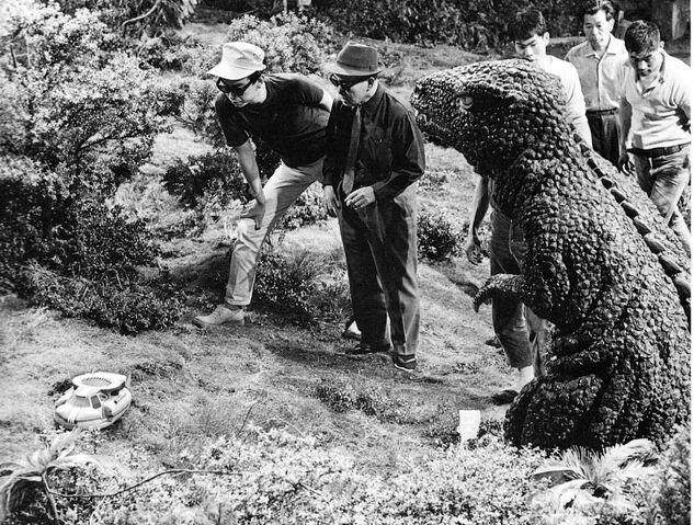 File:Gorosaurus on set.jpg