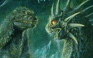 Face off (Godzilla in Hell)