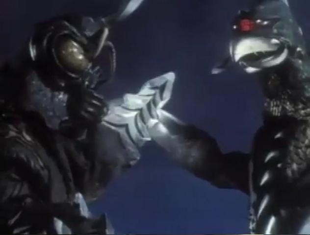File:Godzilla vs. Megalon 8 - Gigan and Megalon Team Up.png
