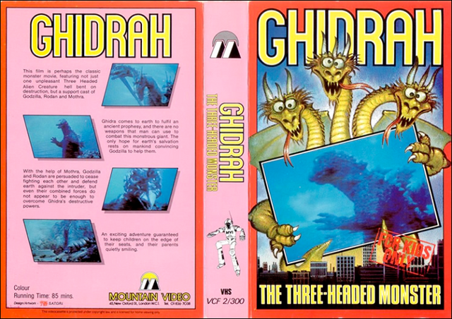 File:Ghidrah The Three-Headed Monster VHS Cover.png