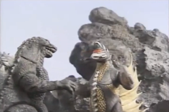 File:Godzilla and Gigan Looking At Each Other.png