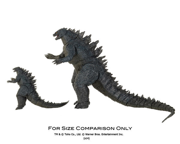 File:NECA Godzilla (6-inch) and NECA Godzilla (12-inch) Comparison 01.jpg