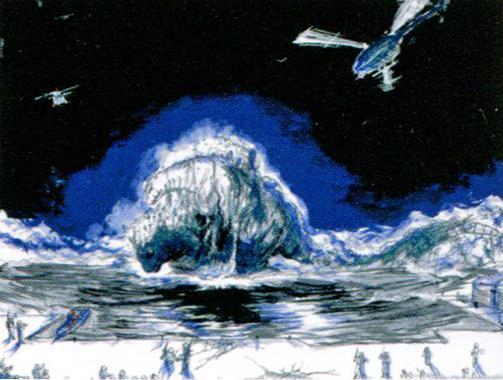File:Concept Art - Godzilla vs. Destoroyah - Godzilla Junior 12.png