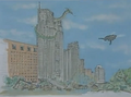 Gamera vs. Garasharp Storyboard 1