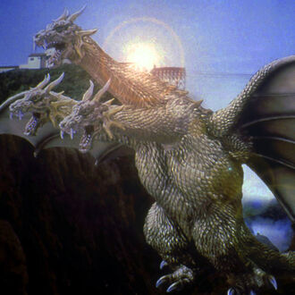 King Ghidorah en Godzilla, Mothra and King Ghidorah: Giant Monsters All-Out Attack