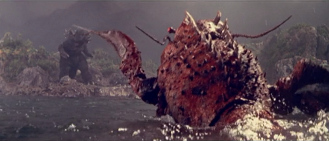 File:All Monsters Attack - Ebirah and DaisensoGoji appear via stock footage 2.png