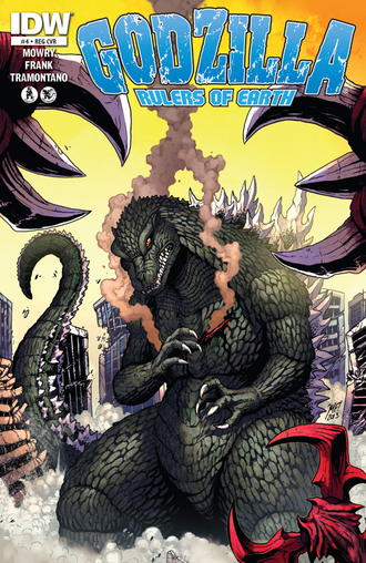 RULERS OF EARTH Issue 4 Cover