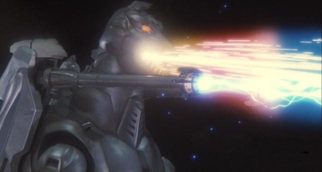 File:Super MechaGodzilla firing the Mega-Buster Ray and the Garuda's cannons.png