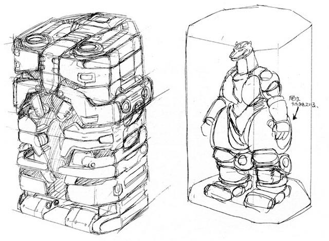 File:Concept Art - Godzilla vs. MechaGodzilla 2 - MechaGodzilla Cell.png
