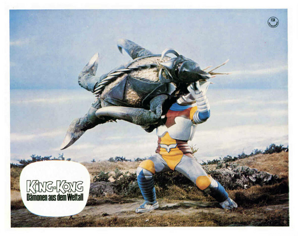 File:Godzilla vs. Megalon Lobby Card Germany 3.png