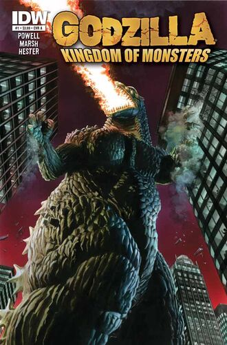 KINGDOM OF MONSTERS Issue 1 CVR A