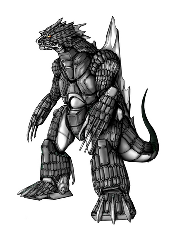 File:Concept Art - Godzilla Against MechaGodzilla - Kiryu 32.png