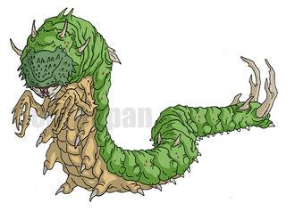 Giant Centipede concept art
