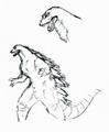 Concept Art - Godzilla vs. Destoroyah - Godzilla Rebirth 3