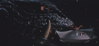 Gamera - 5 - vs Guiron - 44 - Gamera Escapes