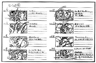 File:Godzilla vs King Ghidorah Production Storyboard Sketch.jpg