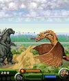 Godzilla Monster Mayhen 2D vs King Ghidorah