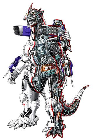 File:Concept Art - Godzilla Against MechaGodzilla - Kiryu 17.png