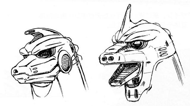 File:Concept Art - Godzilla vs. MechaGodzilla 2 - MechaGodzilla Head 2.png