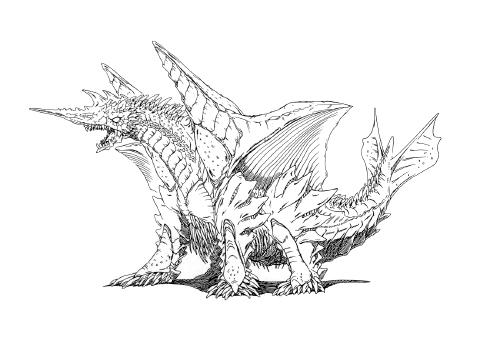 File:Concept Art - Rebirth of Mothra 2 - Dagahra 21.png