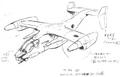 Concept Art - Godzilla vs. Mothra - ASTOL-MB93 3