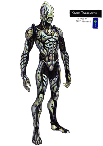 File:Concept Art - Godzilla Final Wars - True Xilien 1.png
