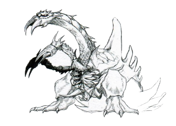 File:Concept Art - Godzilla vs. Destoroyah - Destoroyah 13.png