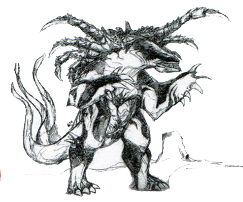 File:Concept Art - Godzilla vs. Destoroyah - Destoroyah 18.png