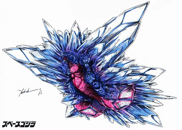 File:Concept Art - Godzilla vs. SpaceGodzilla - SpaceGodzilla Flying Form.png