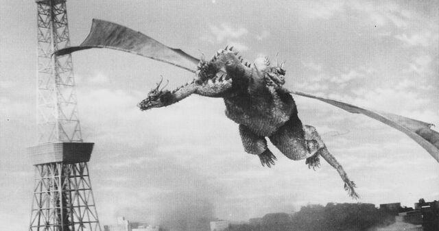 File:GT3HM - Flying King Ghidorah On the Rampage.jpg