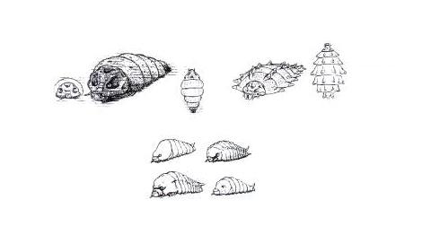 File:Concept Art - Rebirth of Mothra 3 - Primitive Mothra 1.png