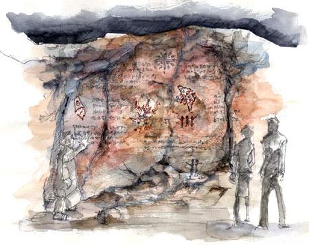 File:Concept Art - Godzilla Final Wars - Shobijin Cave 1.png