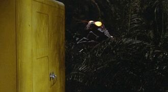 The Giant Praying Mantis in Son of Godzilla (click to enlarge)