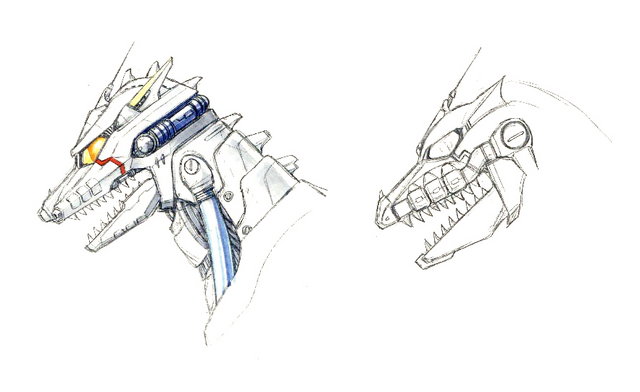 File:Concept Art - Godzilla Against MechaGodzilla - Kiryu Head 3.png