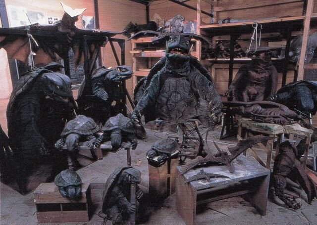 File:Gamera Guardian of the Universe Suits and Props.jpg