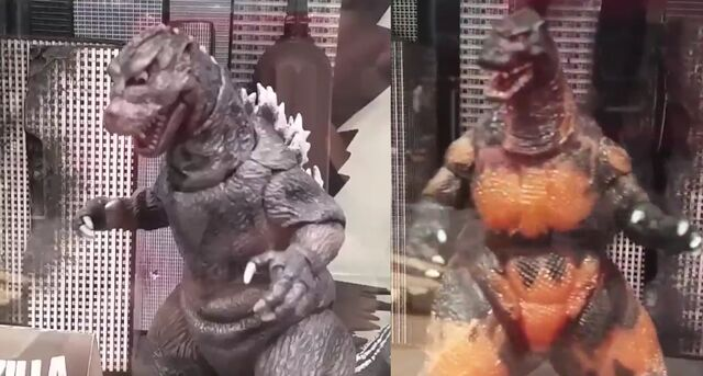 File:NECA Godzilla 1984 and 1995.jpg