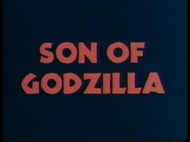File:Son of Godzilla American Title Card.jpg