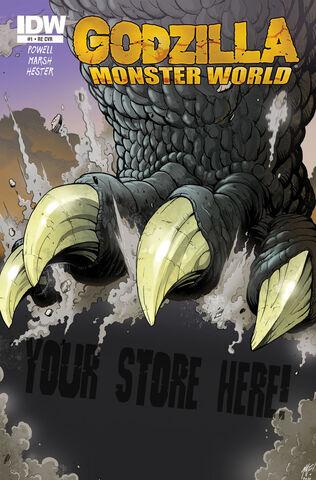 File:KINGDOM OF MONSTERS Godzilla Monster World Issue 1 CVR RE.jpg