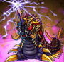 Godzilla X Monster Strike - Battra Larva
